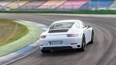Porsche 911 - rear cornering