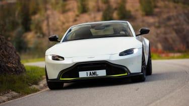 Aston Martin Vantage - full front