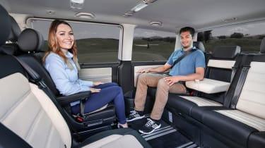 VW Caravelle - rear