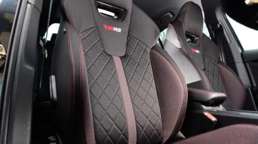 Skoda Octavia vRS - seat details