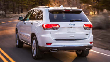Jeep Grand Cherokee Summit - rear