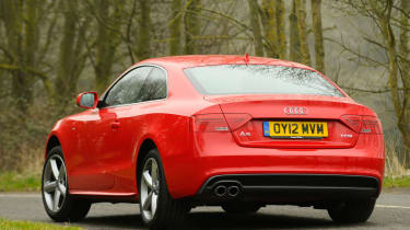 Audi A5 1.8 TFSI rear cornering