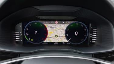 2021 facelifted Skoda Kodiaq SUV - dials