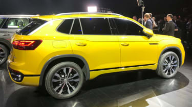 Volkswagen Advanced SUV rear quarter