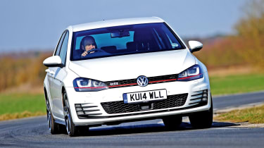 VW Golf GTI - front cornering