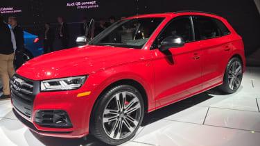 Audi SQ5 - show front