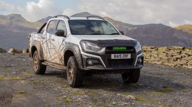 Isuzu D-Max XTR - front 3/4 static off-road