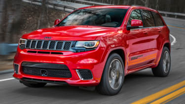 Fastest SUVs in the world - Jeep Trackhawk