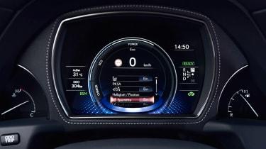 Lexus LS 500h - dials
