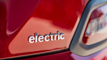 Hyundai Kona Electric - electric badge