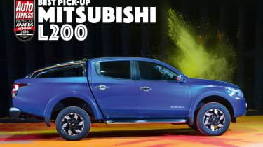 New Car Awards 2016: Pick-Up of the Year - Mitsubishi L200