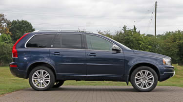 Used Volvo XC90 - side