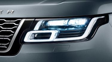 Updated Range Rover - front light detail
