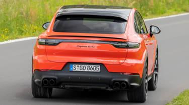 Porsche Cayenne Turbo Coupe - rear cornering