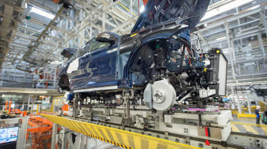 BMW SUVs feature - BMW X7 production line