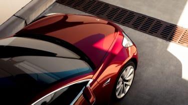 Tesla Model 3 nose