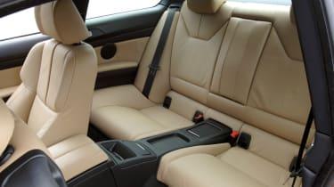 BMW M3 rear seats