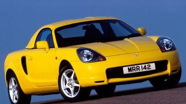 Best cheap convertibles - Toyota MR2