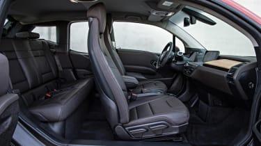 BMW i3 hatchback 2013 side interior