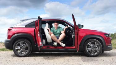 Mazda MX-30 long termer - first report header
