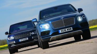 Bentley Bentayga vs Range Rover - full front