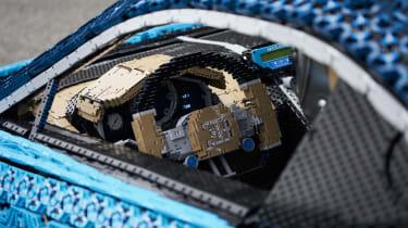 Lego Bugatti Chiron - interior