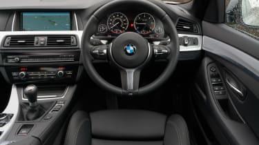BMW 5 Series saloon 2013 inteiror