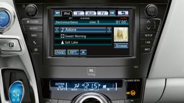 Toyota Prius+ interface