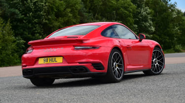 Porsche 911 Turbo S - rear static