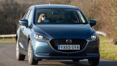 Mazda 2 - front corneringMazda 2 -