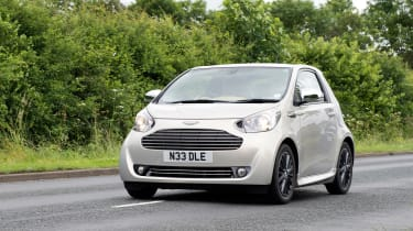 Searching for the Aston Martin Cygnet - front tracking