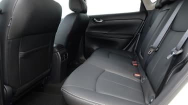 Nissan Pulsar - rear seats