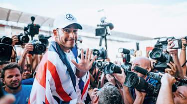 Lewis Hamilton 2018 F1 winner