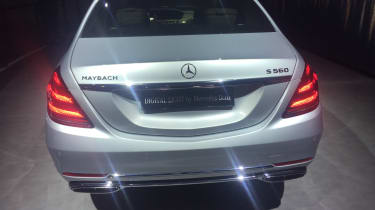 Mercedes-Maybach S-Class - Geneva full rear