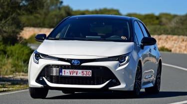 Toyota Corolla - front cornering