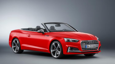 New Audi S5 Cabriolet 2017 front