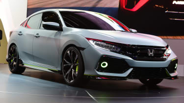 Honda Civic concept - Geneva show front