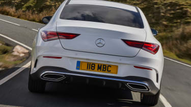 Mercedes CLA 250 AMG Line - rear tracking