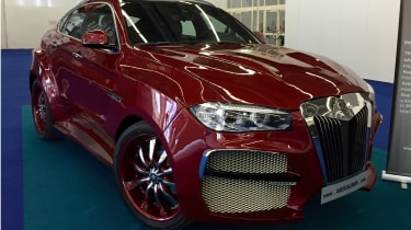 """<span face=""""Calibri, Verdana, Helvetica, Arial"""">Lithuania-based AG Excalibur has come to fame by producing two one-offs; the first was a wacky take on the BMW 6 Series Coupe called the AG Shark and, and more famously, the AG Excalibur"""