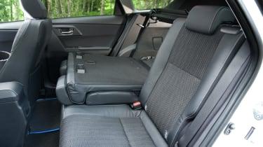 Toyota Auris Touring Sports seats folded