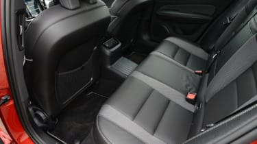 Volvo S60 - rear seats