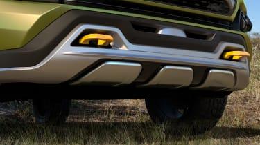 Toyota FT-AC Concept - bumper