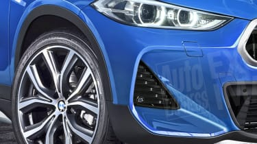 New BMW X2 exclusive images detail