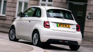 Fiat 500 Action - rear cornering