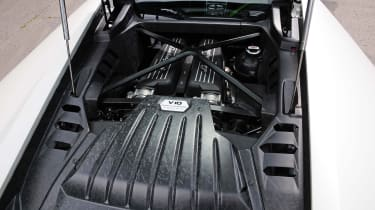 New Lamborghini Huracan engine