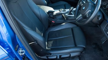 Used BMW 3 Series - front seat