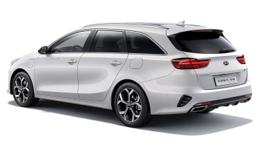 Kia Ceed Sportswagon PHEV - rear 3/4 static