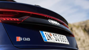 Audi SQ8 - rear badge