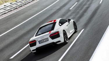 Audi R8 V10 RWS - rear action