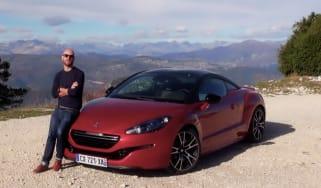 Peugeot RCZ R video review